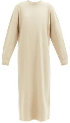 Extreme Cashmere - No. 106 Weird Stretch-cashmere Dress - Ivory