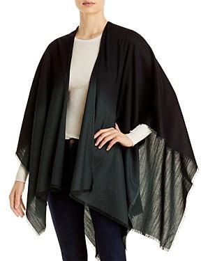 Eileen Fisher Wool & Silk Poncho