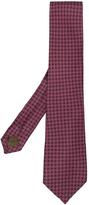 Church's Geometric Print Silk Tie