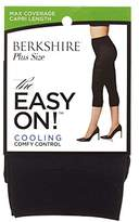Berkshire Women's Plus Size the Easy on Max Coverage Capri Length Tights