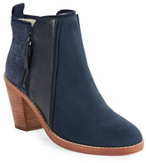 Matt Bernson Holt Suede and Leather Ankle Boots