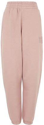 alexanderwang.t Foundation Logo Cotton-blend Sweatpants