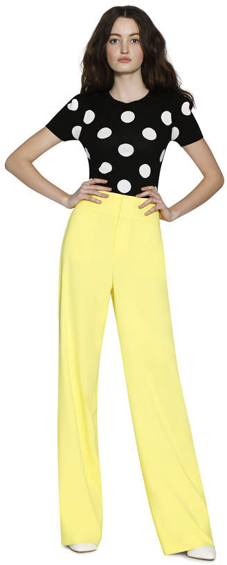 Alice + Olivia Knox High Waist Pant