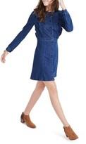 Madewell Women's Ruffle Denim Dress