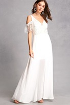 Forever 21 Soieblu Lace Maxi Dress
