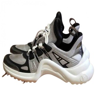 Louis Vuitton Archlight Silver Leather Trainers