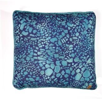 Donna Sharp Summer Surf Ocean Print Decorative Pillow