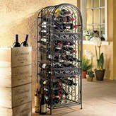 August Grove Estell 45 Bottle Floor Wine Rack