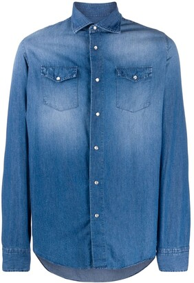 Dell'oglio Long-Sleeve Denim Shirt
