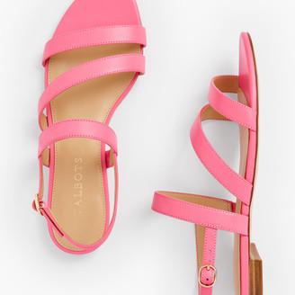 Talbots Keri Multi Strap Sandals - Nappa