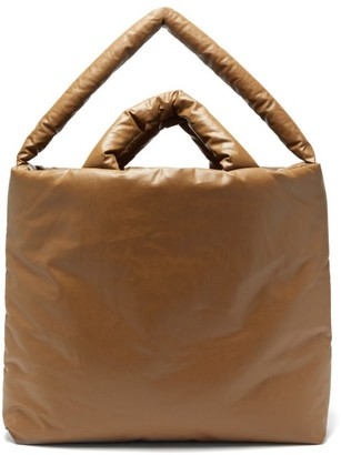Kassl Editions Oil Large Padded Canvas Tote Bag - Brown