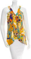 Diane von Furstenberg Silk Patterned Top