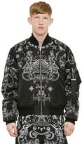 Givenchy Printed Reversible Nylon Bomber Jacket