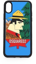 Dsquared2 Multicolor Canada Logo Iphone X Cover