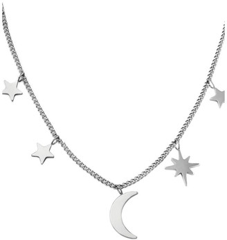 ROSEFIELD Lois Multi Stars And Moon Necklace