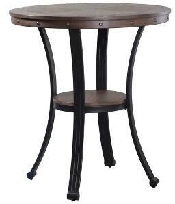 Powell Company Angelo Pub Table Oak