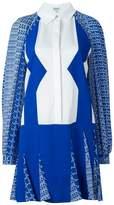 Kenzo 'Diagonal Stripes' dress