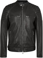 Belstaff Stoneham Black Quilted Leather Jacket