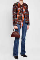 Peter Pilotto Fringed Jacket with Wool and Virgin Wool