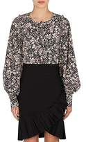 Isabel Marant Women's Berny Floral Silk-Blend Top
