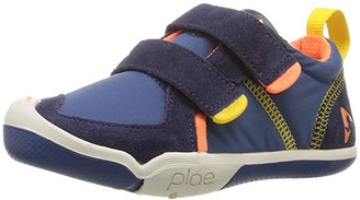 Plae SINGLE SHOE - Ty (Toddler/Little Kid) (Denim/Navy) Boy's Shoes