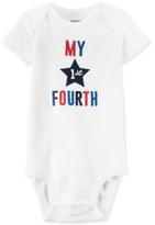 Carter's My 1st Fourth Cotton Bodysuit, Baby Boys & Girls (0-24 months)