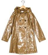Gucci Girls' GG Hooded Coat