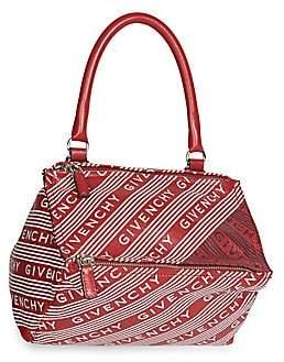 Givenchy Women's Small Pandora Logo Leather Crossbody Bag