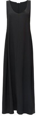 The Row Lee Scoop-neck Maxi Dress - Black
