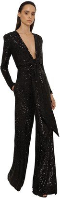 Dundas Sequined Stretch Jumpsuit