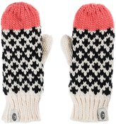 Animal Womens/Ladies Racines Knitted Mittens