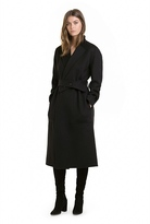 Country Road Belted Wool Coat