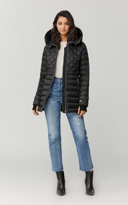 Soia & Kyo ALYSSANDRA knee-length lightweight down coat