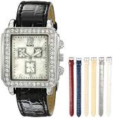 XOXO Women's XO9025 Seven-Color Interchangeable Strap Set Watch