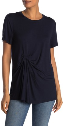 Rachel Roy Collection Drape Front T-Shirt