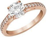 Swarovski Attract Solitaire Ring