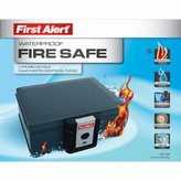 First Alert 2013F Water and Fireproof Security and Media Safe by