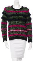 Julien David Patterned Wool Sweater