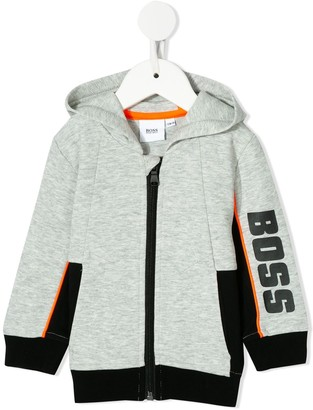 Boss Kids Hooded Jersey Cardigan