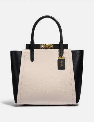 Coach Troupe Tote In Colorblock