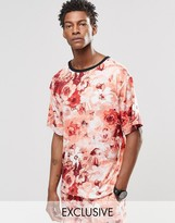Reclaimed Vintage T-shirt In Floral Print
