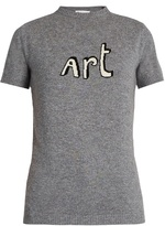 Bella Freud Art short-sleeved cashmere sweater