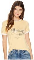 Roxy Puerto Pic Golden Sunset Screen Tee Women's T Shirt