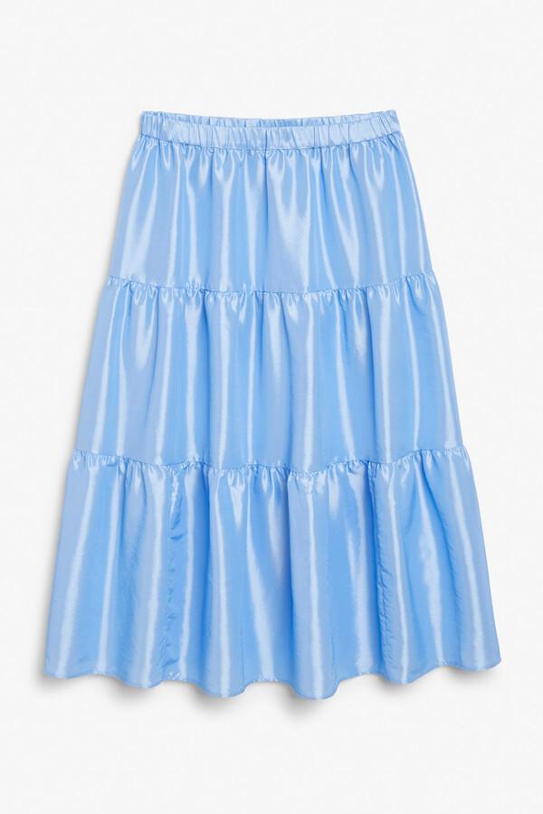 Monki Layered skirt