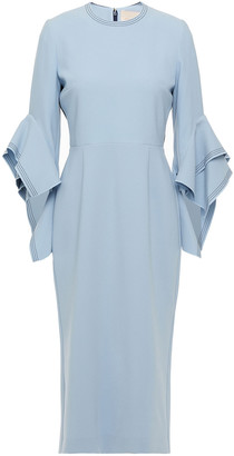 Roksanda Ronda Two-tone Crepe Midi Dress
