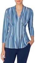 Catherine Malandrino Women's Rea Stripe Top