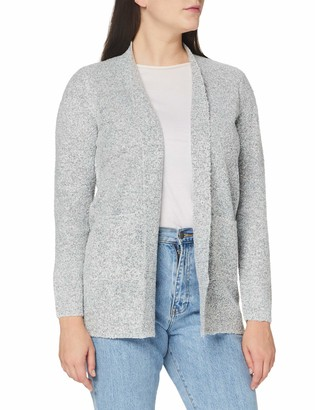 Blue Seven Women's Damen Boucle Long-Strickjacke Cardigan Sweater