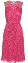 Diane von Furstenberg Bali Printed Silk Wrap Dress