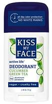 Kiss My Face Active Life Aluminum CHLOROHYDRATE Free Deodorant, Cucumber2.48 Ounce Stick