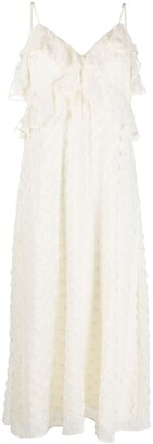Zimmermann Textured Slip midi dress